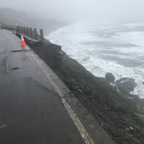 Hwy 101 To Close South Of Yachats