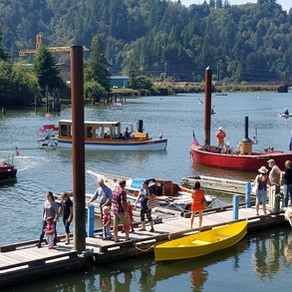 Couple Getting Married At The Wooden Boat Show