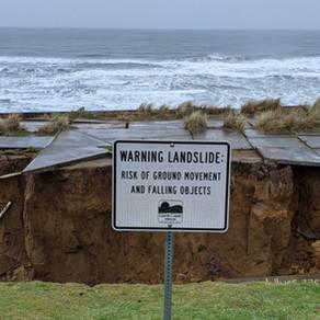 King Tides And Heavy Rains Creating Coastal Erosion