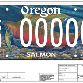 Salmon Plate Gets A New Look
