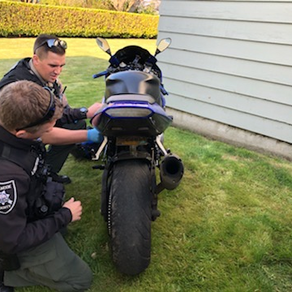 Motorcycle Pursuit Leads To Arrest