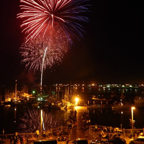 Thanks To The Port Of Newport...There Will Be Fireworks Over Yaquina Bay