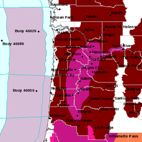 Excessive Heat Watch For Lincoln County