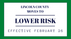 Lincoln County To Remain At Low Risk