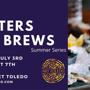 Art, Oysters and Brews