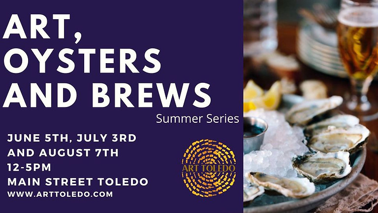 Art, Oysters and Brews Events