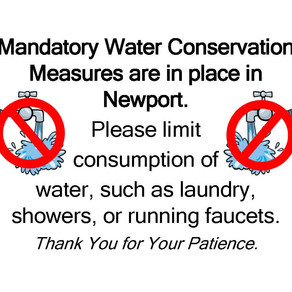 Water Use Restrictions Continue In Newport