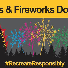 Visitors And Residents Asked to Forego Fireworks