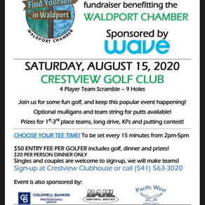 Waldport Chamber Golf Fundraiser