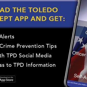 Toledo Police Offer New App
