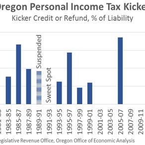 Oregon Economy Creates A Kicker