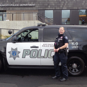 Lincoln City Police Names Officer Wehrley As K-9 Handler