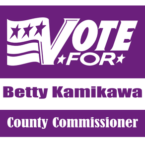 Betty Kamikawa Running For County Commissioner
