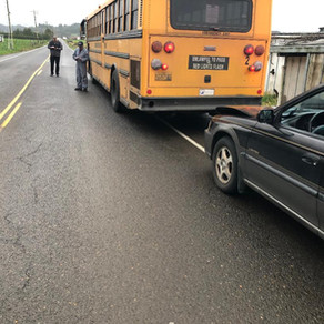Minor Collision With School Bus Leads To DUII Arrest