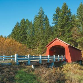 State Map Of Oregon Bridges
