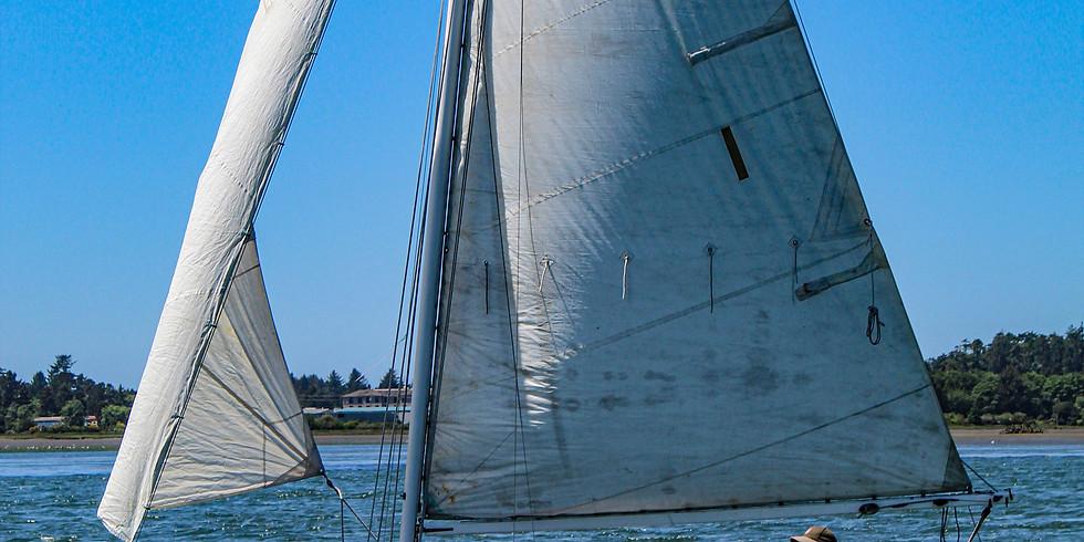 3rd Teak Lady Sail