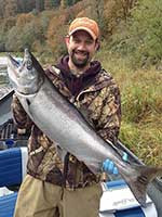 Temporary Changes To Wild Fall Chinook Harvest On Coastal Rivers