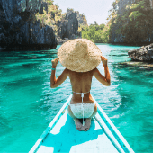 Woman-Asian-Hat-Water-Boat-Nature.png