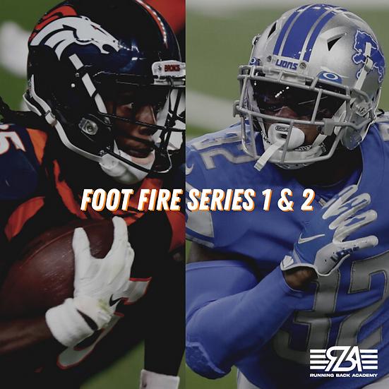 Foot Fire Series 1 & 2 Package