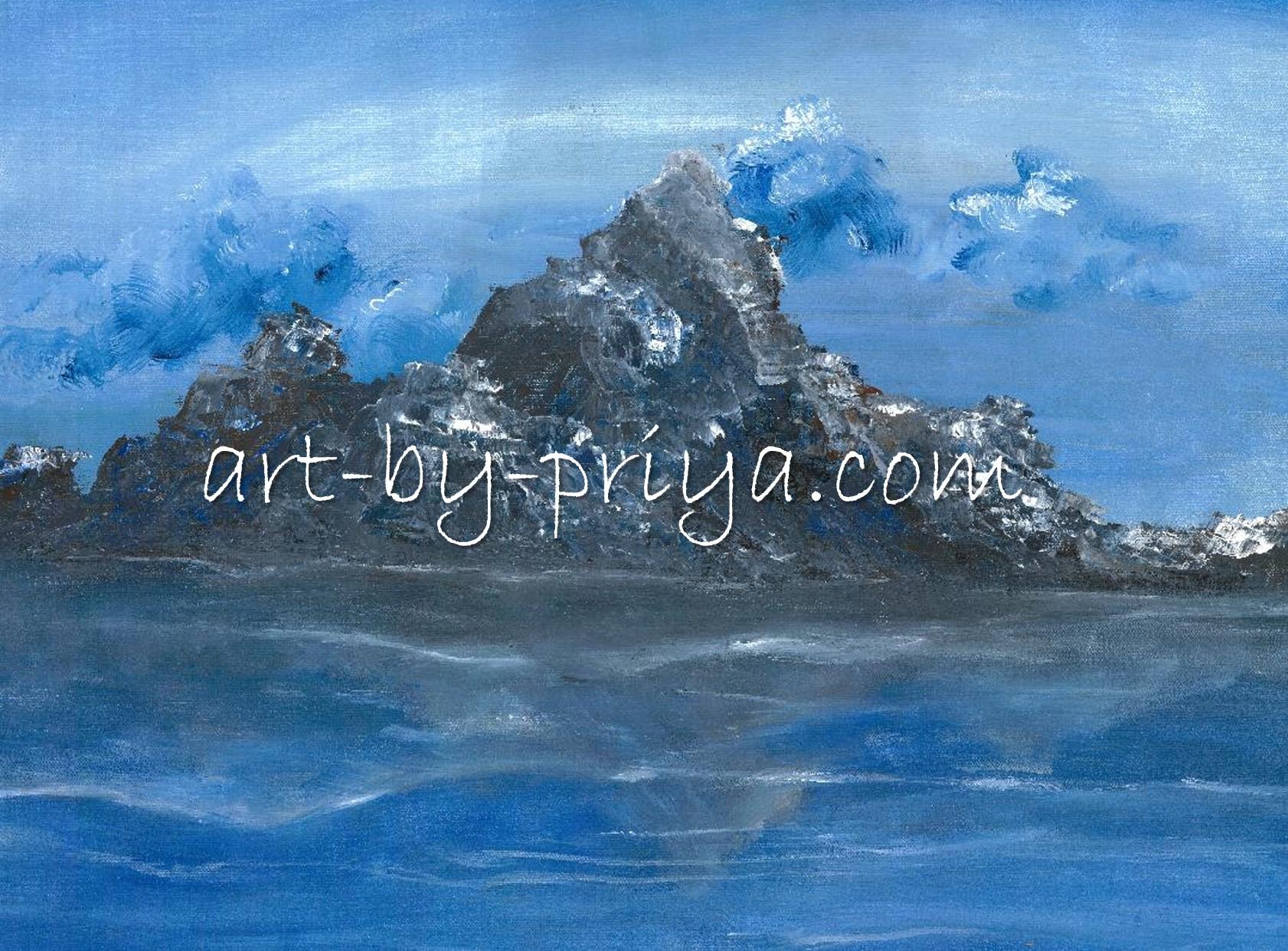 BLUE MOUNTAIN ACRYLIC20