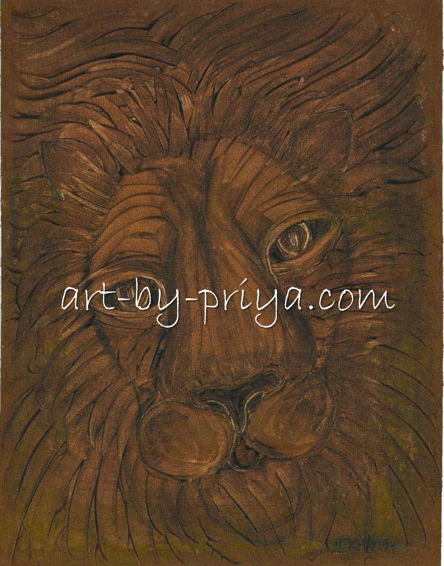 LION ACRYLIC22