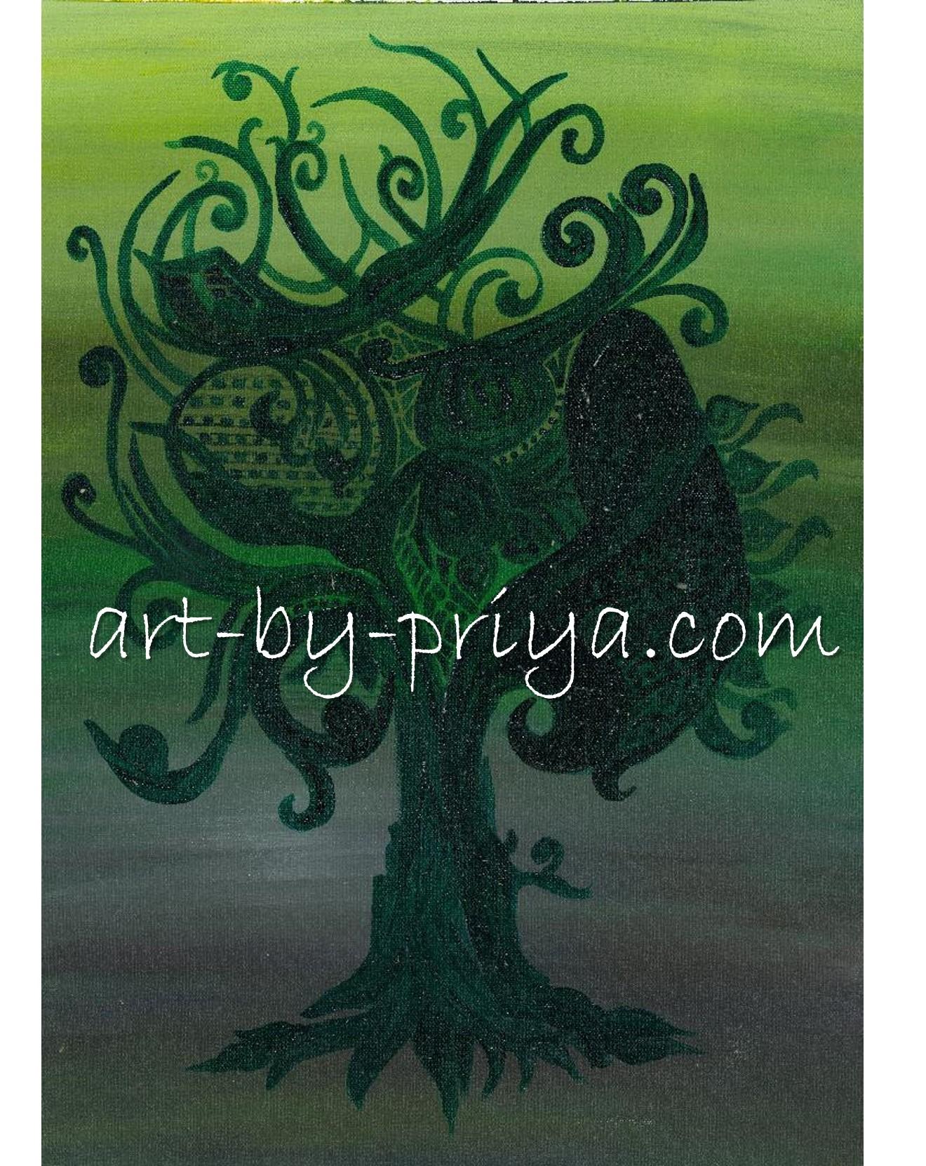 THE TREE ACRYLIC17