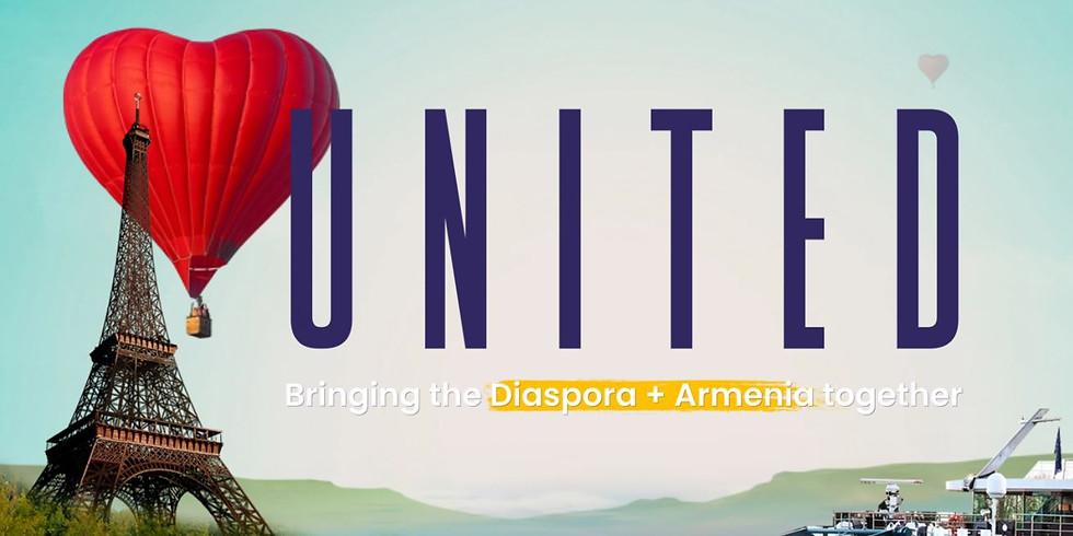 United Armenia - 2022 - Paris and the River Seine