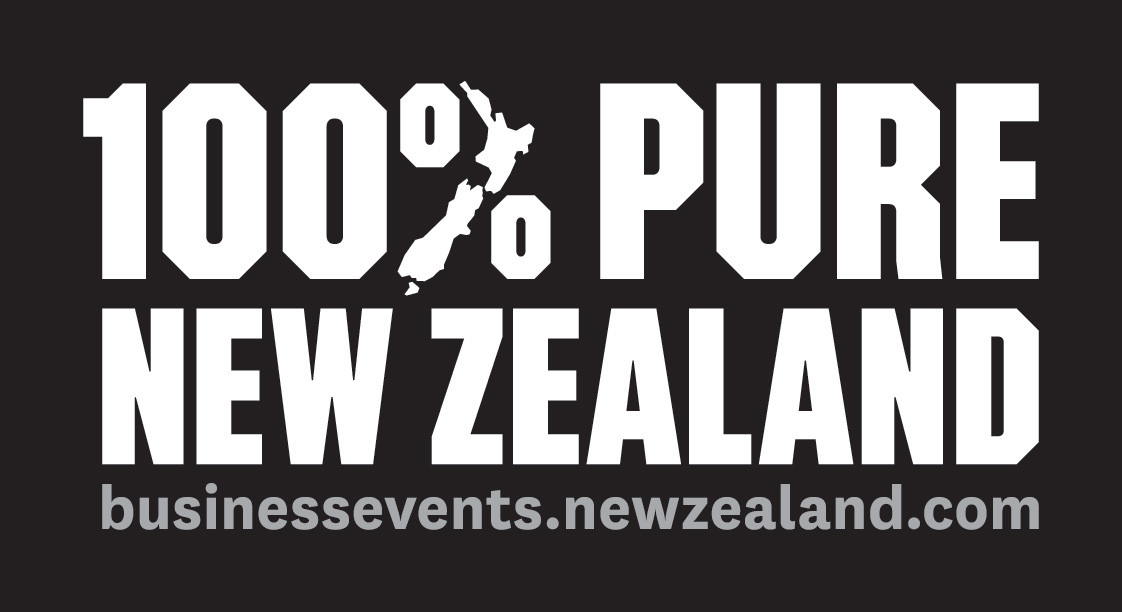 100% Pure Nz Logo With Business Events U