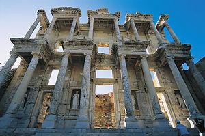 ancient city ephesus, library