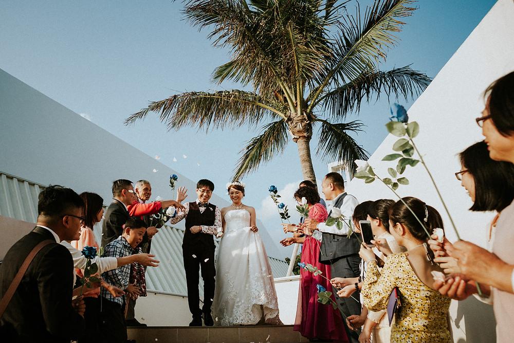 アイネスヴィラノッツェ沖縄 actphotography 沖縄アクト 沖縄結婚式カメラマン