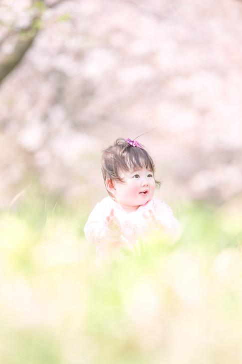 栃木ロケーション 赤ちゃん写真