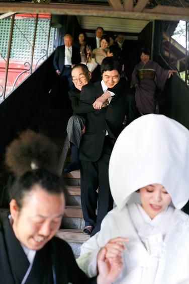 日光東照宮 clovers wedding 結婚式当日