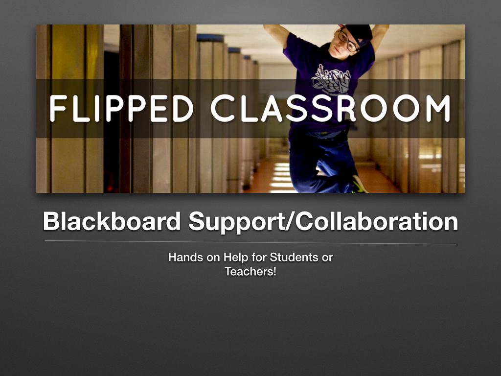 Blackboard Mini Lesson