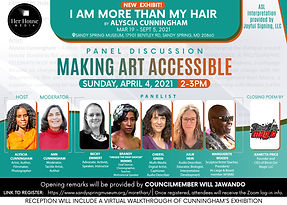 Making-Art-Accessible_Panel-Flyer_Alysci