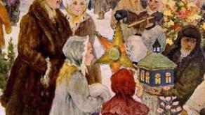 «Праздник начинается за моим окном…» из цикла «Рассказы тётушки Забавы». Авторская программа