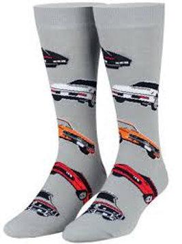 Cool Socks Retro TV Cars