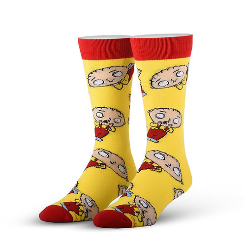 Cool Socks Stewie all over