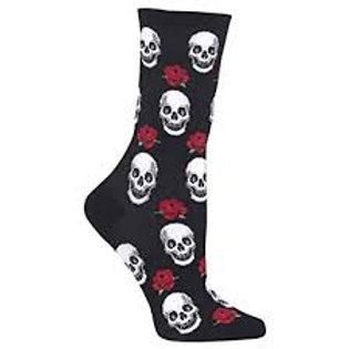 Hotsox Skulls and Roses