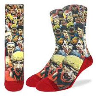 Good Luck Socks Zombie Horde
