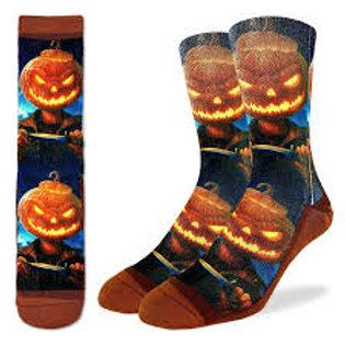 Good Luck Socks Evil Pumpkin