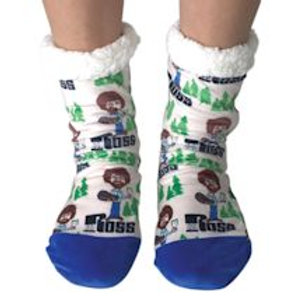 Oooh Yea All happy trees Bob Ross slippers