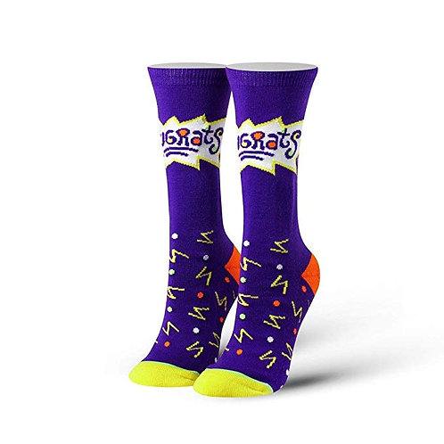Cool Socks Rugrats Purple