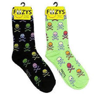 Foozys Colorful Skulls