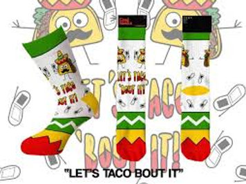 Cool Socks Let's Taco Bout It