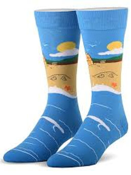 Cool Socks Beach Scene