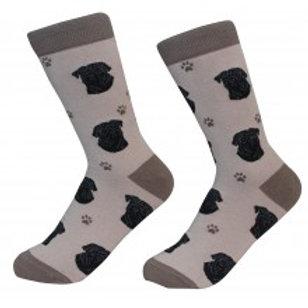 Sock Daddy Black Pug