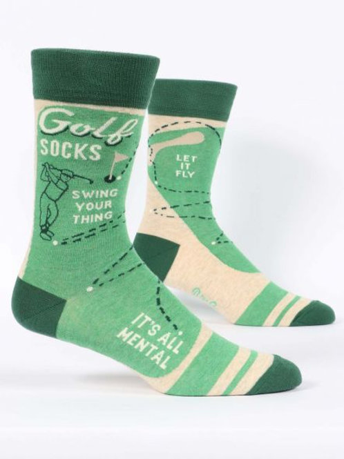 Blue Q Golf socks