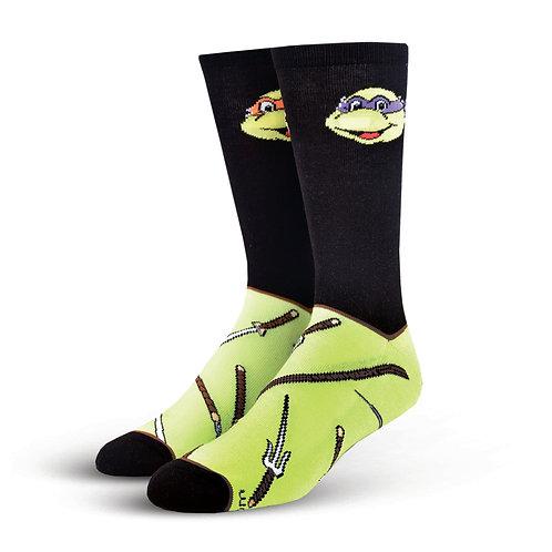 Cool Socks Teenage Mutant Ninja Turtles Nunchucks