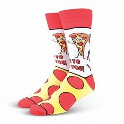 Cool Socks Slice To Meet You Pizza