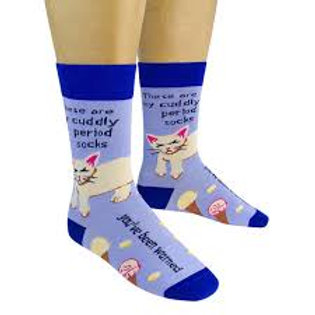 Funatics These Are My Cuddly Period Socks You've Been Warned